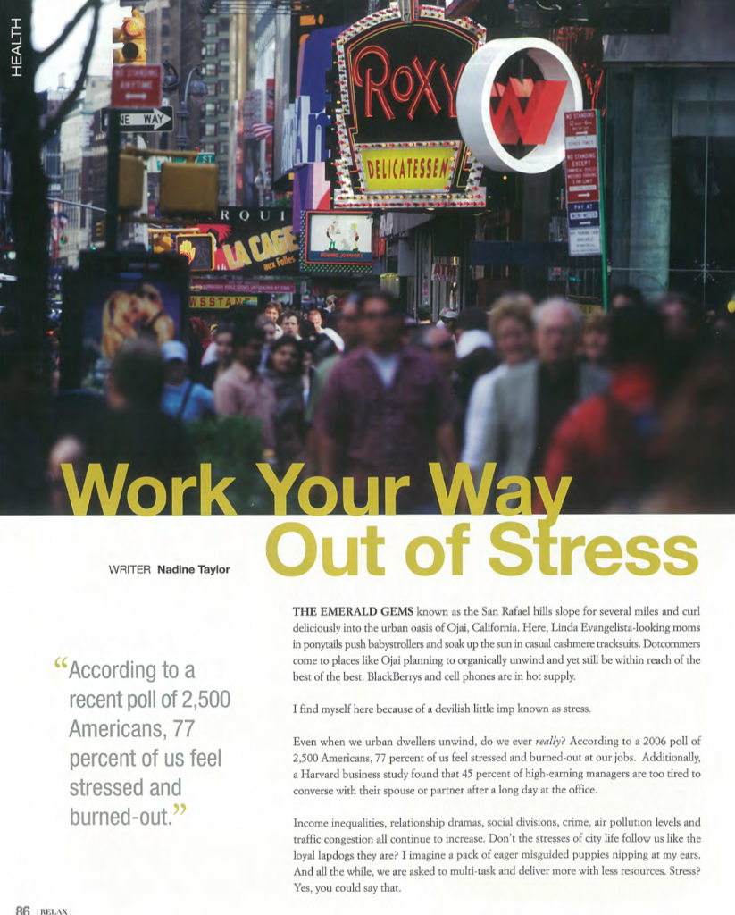 WorkYourWayoutofStress